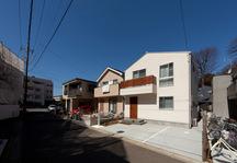 仙川のナチュラルテイストの家・東京の画像