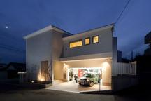 愛甲石田のガレージハウス・神奈川の画像