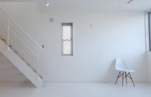 和光の白いシンプルモダンな住宅・埼玉の画像