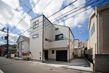 田園調布のガレージハウス・東京の画像