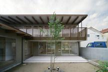 松原の中庭のある家・大阪の画像