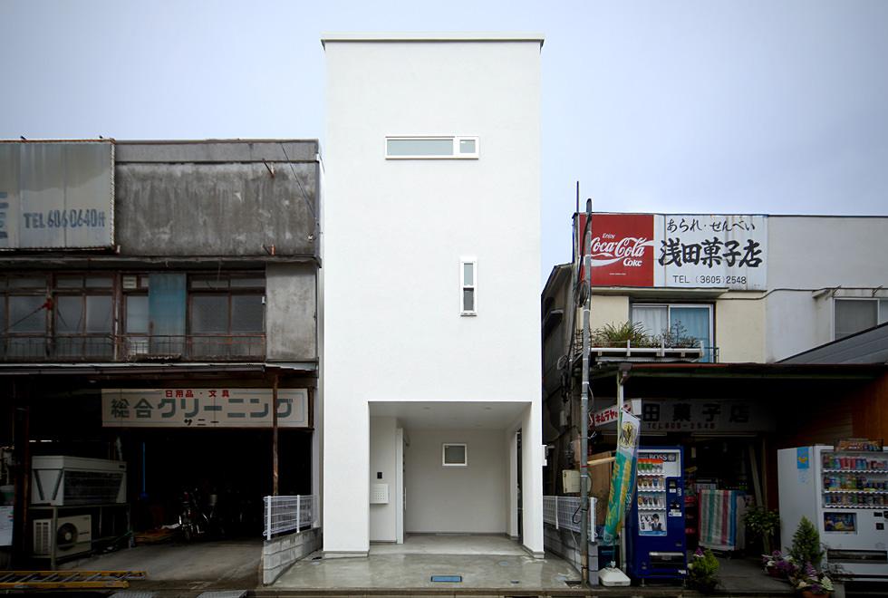 東綾瀬の狭小住宅・東京(建築面積 約11.7坪)