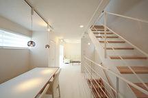 上池台の狭小住宅・東京(建築面積 約8.8坪)の画像