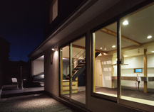 宝塚のガレージハウス・兵庫の画像