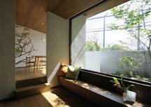 岸和田・宮前町の中庭のある家・大阪の画像