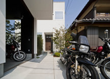 飾磨のバイクガレージハウス・姫路の画像
