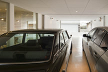 大阪の二世帯ガレージハウスの画像