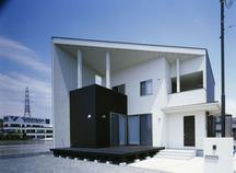 白浜町のシンプルモダンな住宅・姫路の画像