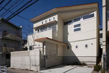 楠谷町の中庭のある家・神戸の画像