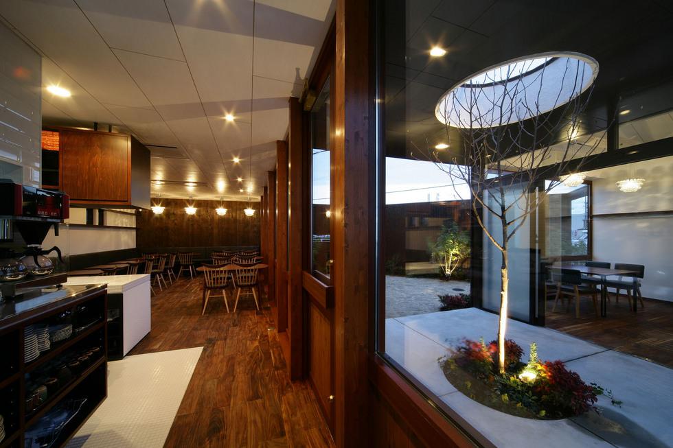 たつののカフェ併用住宅