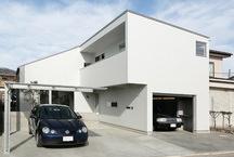 本庄のガレージハウス・埼玉の画像
