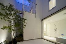 東住吉の中庭のある家・大阪の画像