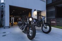 朝霞のバイクガレージハウス・埼玉の画像