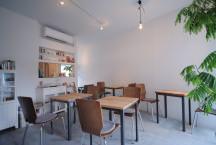五位堂の店舗併用住宅(カフェ)・奈良の画像