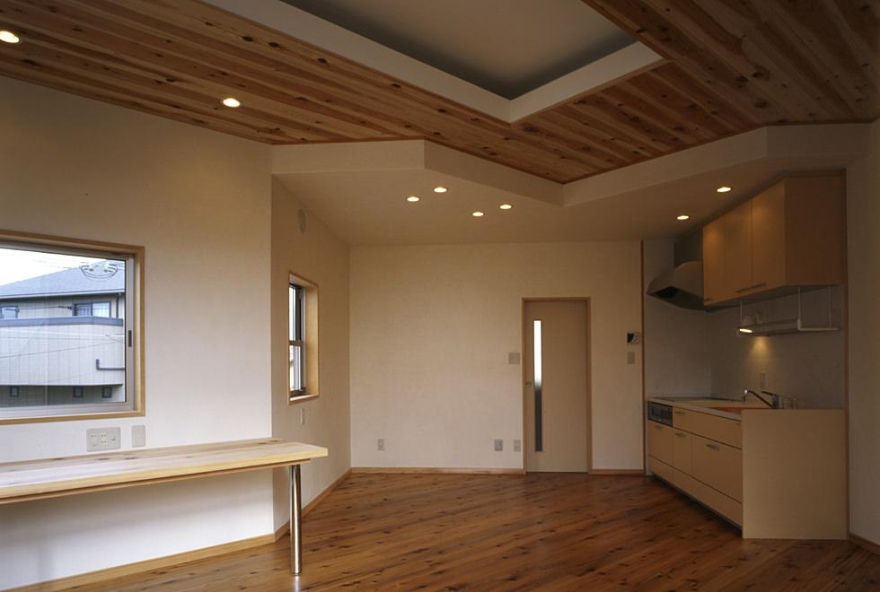 垂水の店舗併用住宅 2階住居部分 ダイニングキッチン