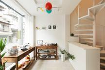 淀川の狭小店舗併用住宅(食品)・大阪 (建築面積 約9.0坪)の画像