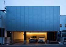 舞子坂のガレージハウス・神戸の画像