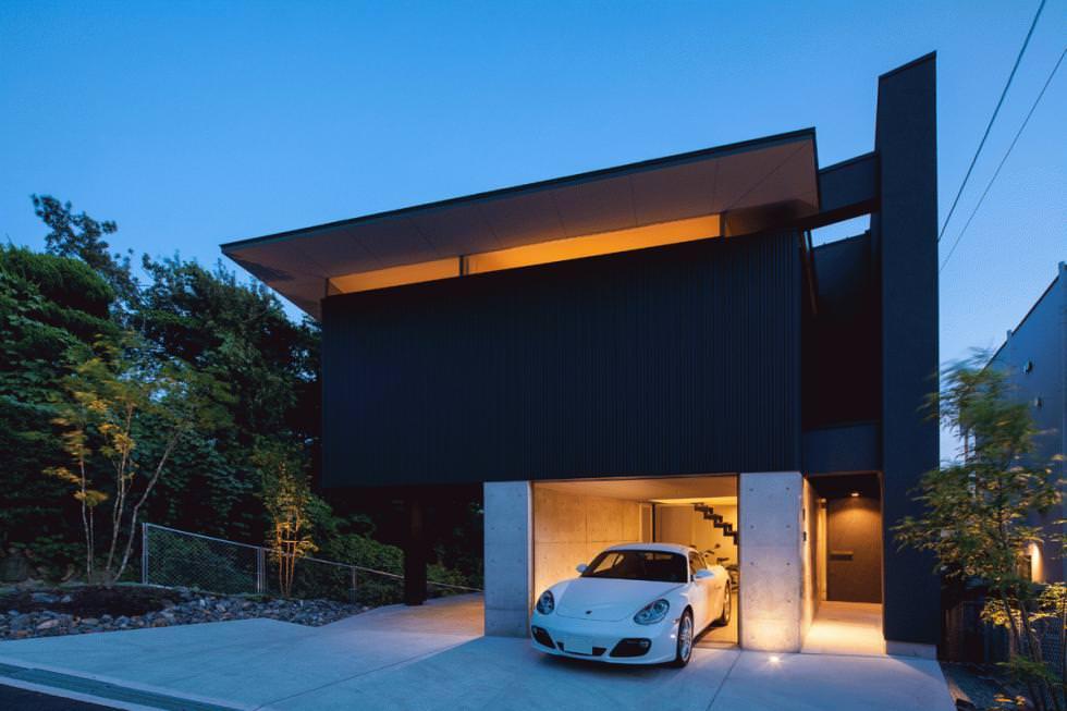 豊中のガレージハウス