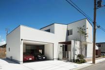 和歌山のガレージハウスの画像