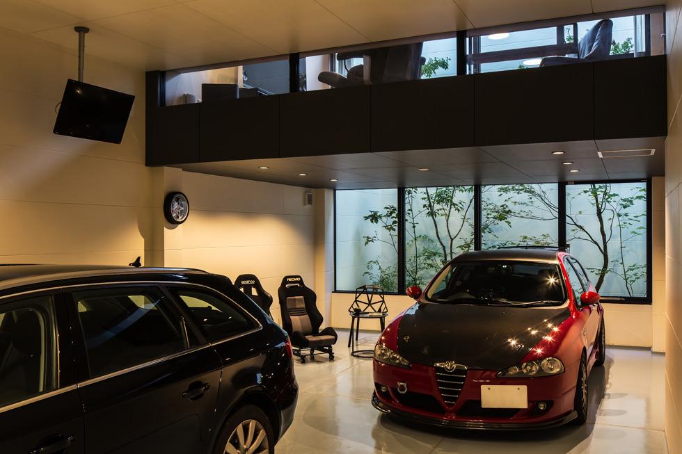 京都・山科のガレージハウス
