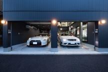 神奈川のガレージハウスの画像