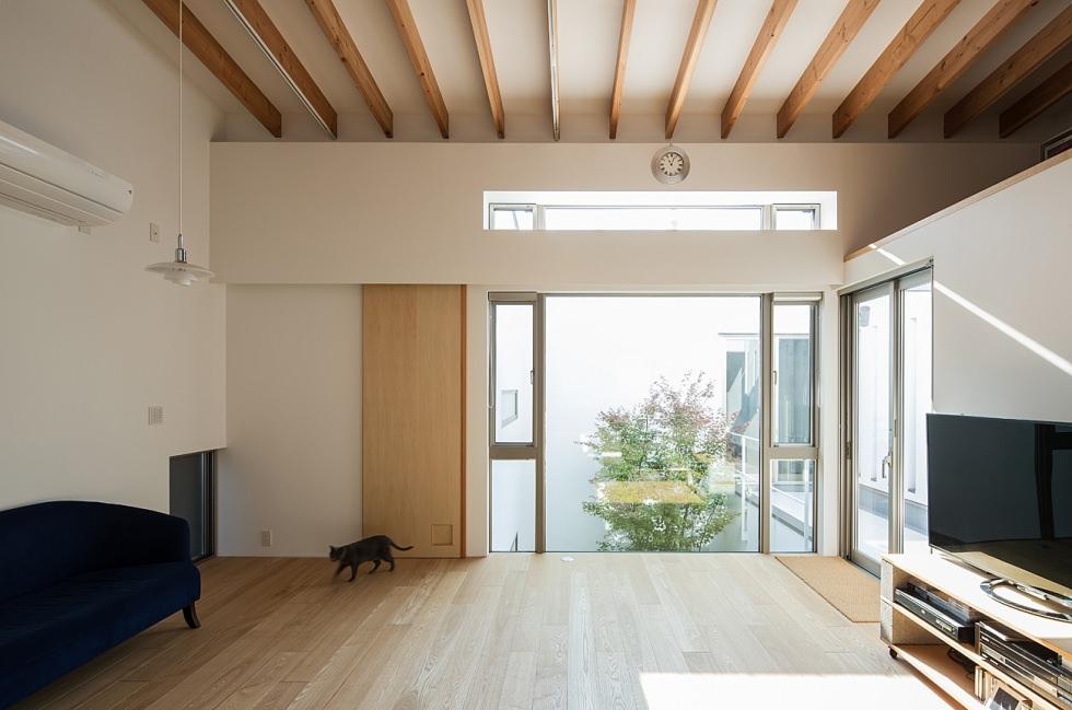 京都北区の二世帯ガレージハウス