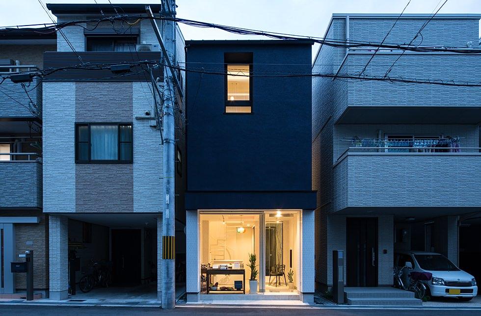 淀川の店舗併用住宅