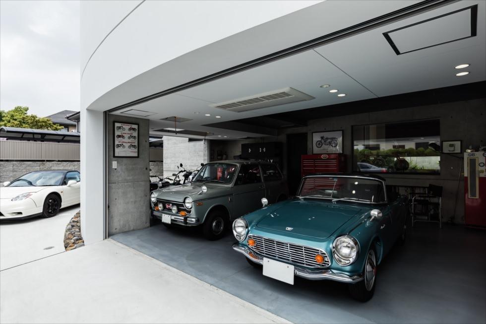 堺のガレージハウス・大阪