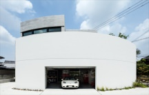 堺のガレージハウス・大阪の画像