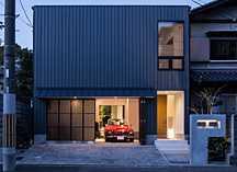 京都・北区の二世帯ガレージハウスの画像