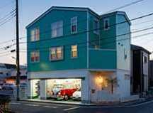 足立区のガレージハウス・東京の画像