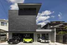 大阪のガレージハウス4の画像