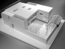見学会模型写真(建物全景)