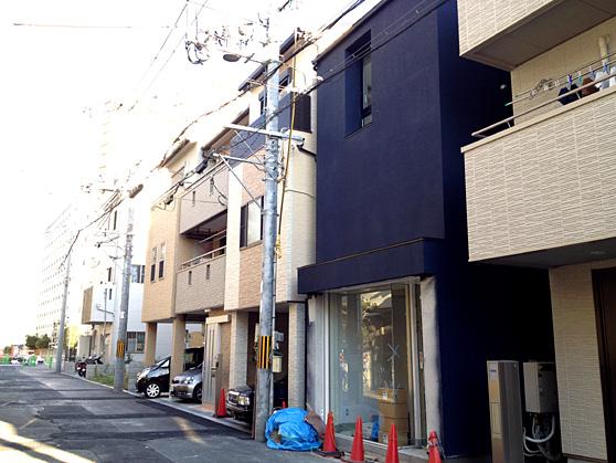 淀川の狭小住宅 (建築面積 約9.0坪)