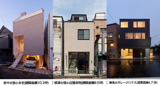 小さくても広く住める狭小住宅