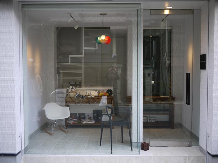 淀川の狭小店舗併用住宅 1階店舗部分