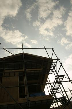 住宅・建築 建築家の住宅をプロデュース ザウス:上棟風景01