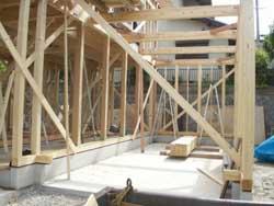 住宅・建築 建築家の住宅をプロデュース ザウス:軸組み02