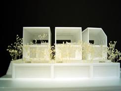 ツキヌケハウス模型