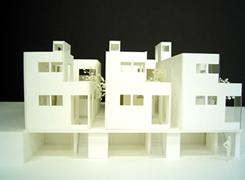 大倉山コートハウス模型
