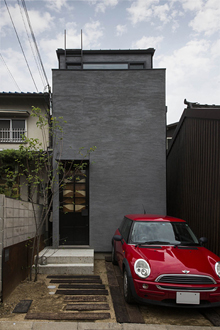奈良きたまちのコートハウス・カフェと奥さん!?将来を見越して建てた夢の家