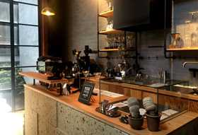 NORR coffee roasters店内